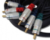 0.5m Component Video Cable - Gold Plated Fully shielded